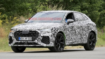 2020 Audi SQ3 Performance Crossover >> 2020 Audi Rs Q3 Sportback Spied With Light Camouflage Autoblog