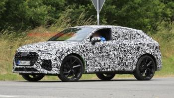 2020 Audi Q3: News, RS Q3, Specs, Release >> 2020 Audi Rs Q3 Sportback Spied With Light Camouflage Autoblog