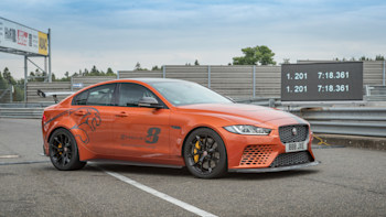 Jaguar XE SV Project 8 slices record time down to 7:18 361