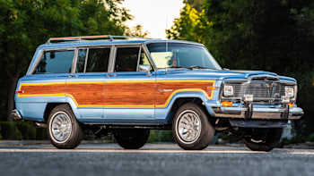 LS-swapped 1984 Jeep Grand Wagoneer restoration is up for ... on