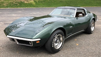 1969 Corvette Stingray >> Ebay Find 1969 Corvette Stingray In Fathom Green Autoblog