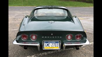 eBay Find: 1969 Corvette Stingray in Fathom Green   Autoblog