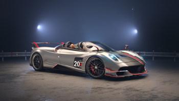 Pagani Huayra BC Roadster breaks cover in 'CSR Racing 2