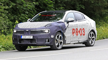 Lynk & Co 05 crossover coupe spied testing | Autoblog