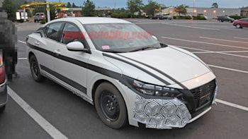 2020 Nissan Sentra Spied With Minimal Camouflage Showing Interior Autoblog The 2020 model year marks the beginning of the sentra's eighth generation, and it brings with it a simplified model lineup. 2020 nissan sentra spied with minimal