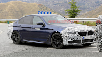 Bmw 5 Series Facelift Has Reasonably Sized Grille Autoblog