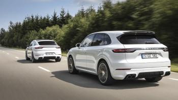 2020 Porsche Cayenne Turbo S E,Hybrid and Cayenne Coupe E