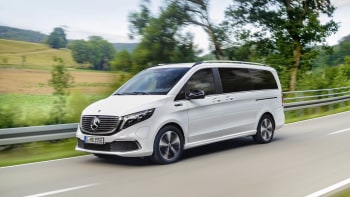 Mercedes EQV luxury electric van can go 252 miles on a full