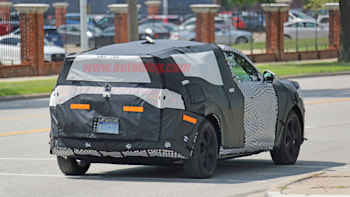 2021 Ford Mach E Is Ford's First Electric SUV >> Ford Mach E Electric Crossover Spied For The First Time Autoblog