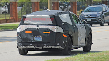 2021 Ford Mach E Is Ford's First Electric SUV >> Ford Mach E Electric Crossover Spied For The First Time