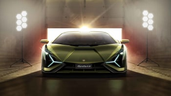 2020 Lamborghini Sián hybrid supercar unveiled