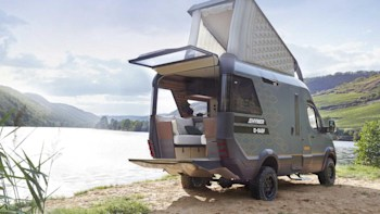 Hymer VisionVenture concept hints at the camper van of 2025