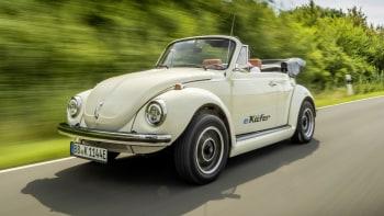 Volkswagen, eClassics converting Beetles to EVs with VW