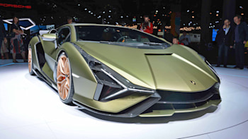 2020 Lamborghini Sian At The Frankfurt Auto Show Photo