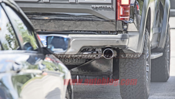 Ford F 150 Raptor Spy Shots Reveal Coil Spring Suspension