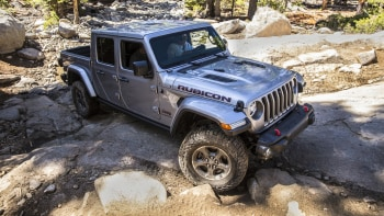 2020 Jeep Gladiator Rubicon Off Road Drive On The Rubicon Trail