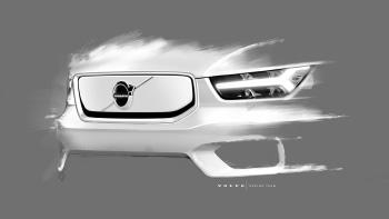 2020 Volvo Xc40 Electric Car Shown In Design Sketches Autoblog