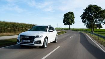Audi Q5 Tfsi E Plug In Hybrid First Drive Plus Audi A7 And