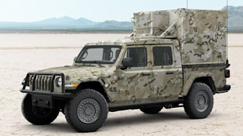 Military Jeeps For Sale >> 2019 Jeep Gladiator Mxt Military Truck Concept Unveiled