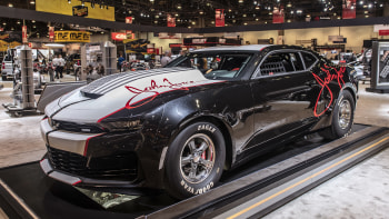 Sema Auto Show 2020.2020 Chevrolet Copo Camaro John Force Unveiled At Sema 2019