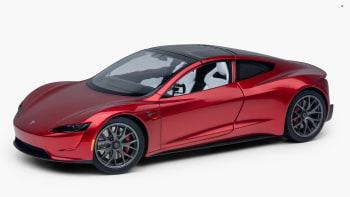 2020 Tesla Roadster >> Tesla Roadster Model Was Built Off The Cad Drawings For The