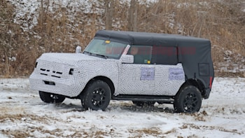 New Ford Bronco >> The 2021 Ford Bronco Has Been Spotted In The Wild Autoblog
