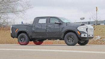 Ram 1500 Trx Spied Hiding Production Bodywork Autoblog
