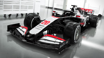 Haas F1 Team Reveals Its 2020 Car In Gray Red And Black Autoblog