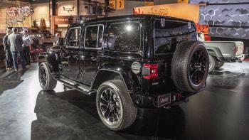 2020 Jeep Wrangler Sahara Altitude White