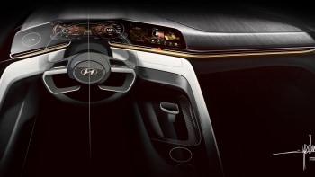 hyundai introduces 2021 elantra with hybrid power coupe styling autoblog autoblog