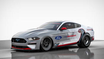Ford Mustang Cobra Jet 1400 is a 1,400-hp electric drag racer ...