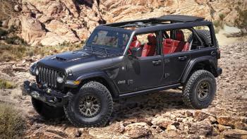 Jeep Wrangler Rubicon 392 Is A 450 Horsepower Concept Off Roader Autoblog
