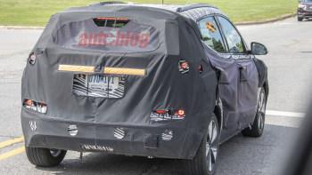 2022 Chevy Bolt Euv Interior Spied With Big Screen Super Cruise Autoblog