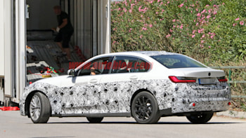 Electric Bmw 3 Series Spied With A Very Normal 3 Series Look Autoblog