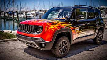 Jacked Up Jeep Renegade >> Jeep Renegade Hell S Revenge Is The Harley Rider S Jeep Autoblog