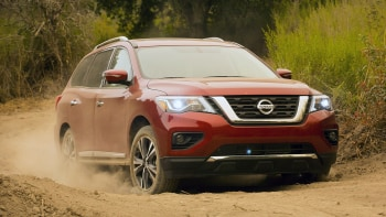 2017 Nissan Pathfinder Off Road