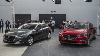 Mazda 3 Vs 6 >> Refreshed 2017 Mazda 3 And 6 Get G Vectoring Control Autoblog