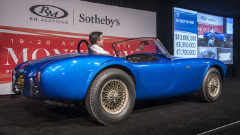 Very first Shelby Cobra sells for $13 75 million, a new