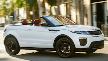 Range Rover Convertible >> The Range Rover Evoque Convertible Is Absurd And Strangely