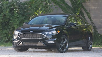 2017 Ford Fusion Sport Front 325 Hp