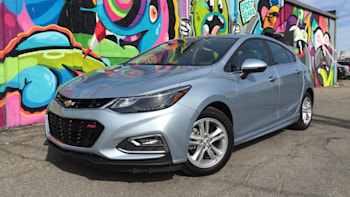 Room and a better view | 2017 Chevrolet Cruze Hatchback