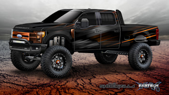 Monster Ford F-150 Raptor and Super Duty trucks invade SEMA
