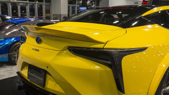 Lexus Lc 500 Gets Customized At Sema Before It Even Goes On Sale