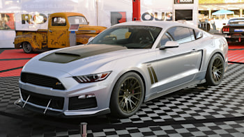 Roush P 51 Mustang Returns To Sema With An F 150 Nitemare Autoblog