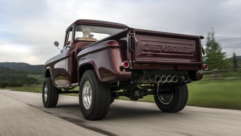 The newest old truck | Legacy Chevrolet NAPCO 4x4 Conversion