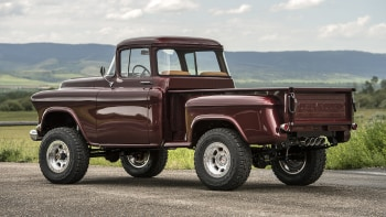 The newest old truck | Legacy Chevrolet NAPCO 4x4 Conversion First