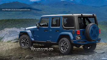 Everything We Know About The 2018 Jeep Wrangler Jl Autoblog