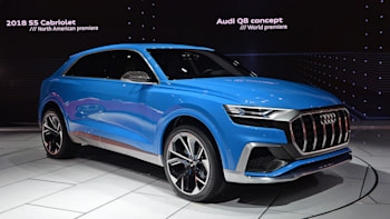 Audi Joins Other German Automakers In Leaving Detroit Show Autoblog - Audi car show