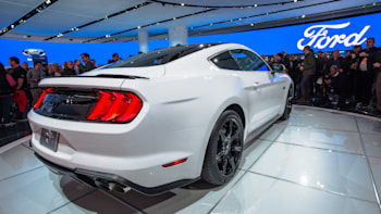 2018 Ford Mustang Rear Side