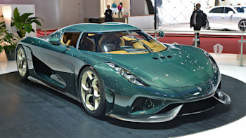 The First Production Koenigsegg Regera Looks Wonderful In Bare Green